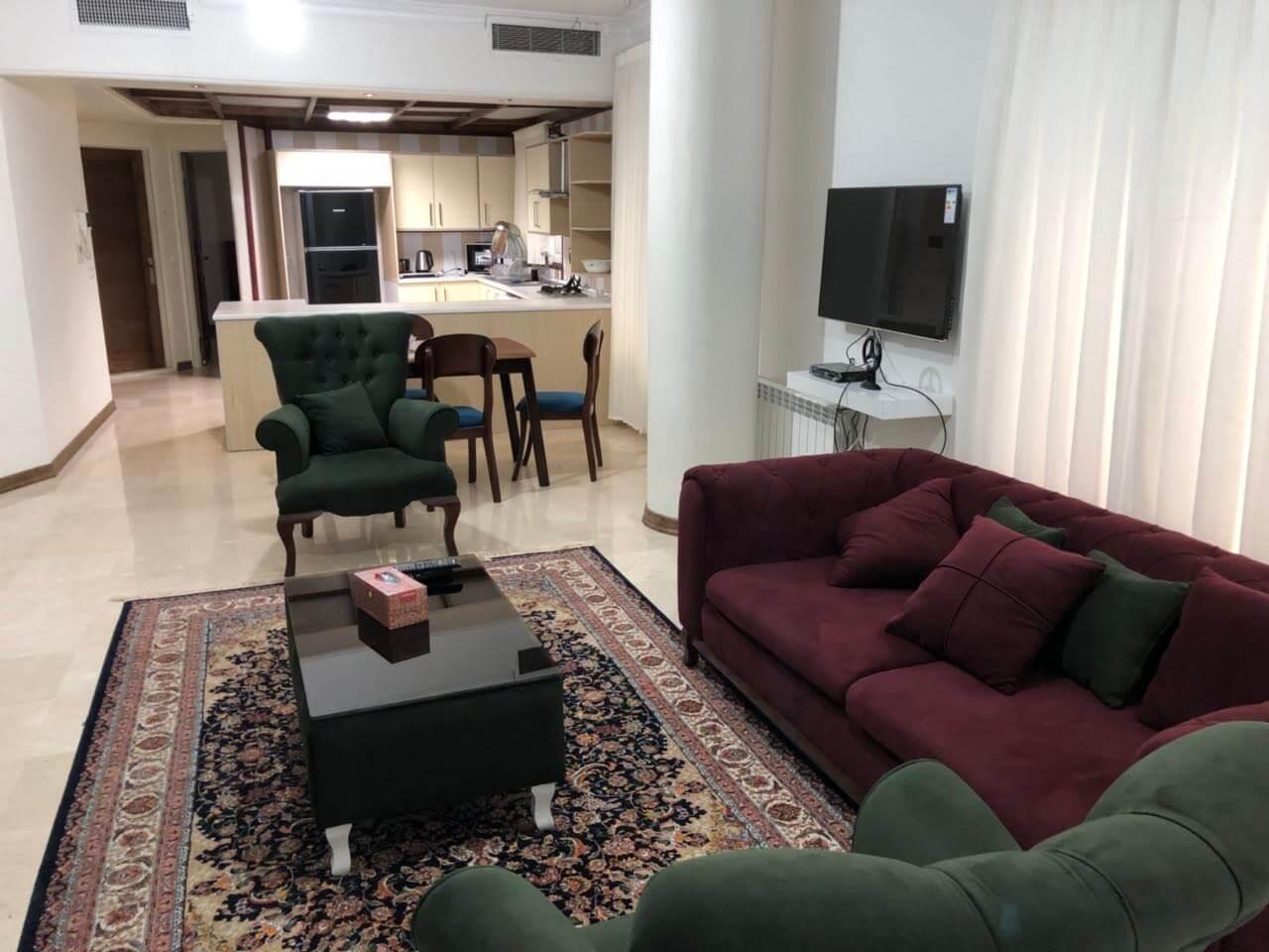 اجاره آپارتمان مبله در شمال تهران ولنجک
