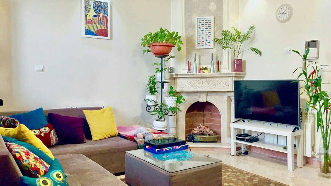 آپارتمان مبله تهران بلند مدت پونک جنت آباد