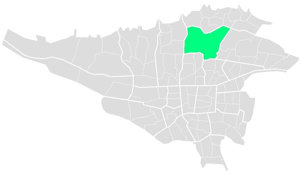 مناطق تهران
