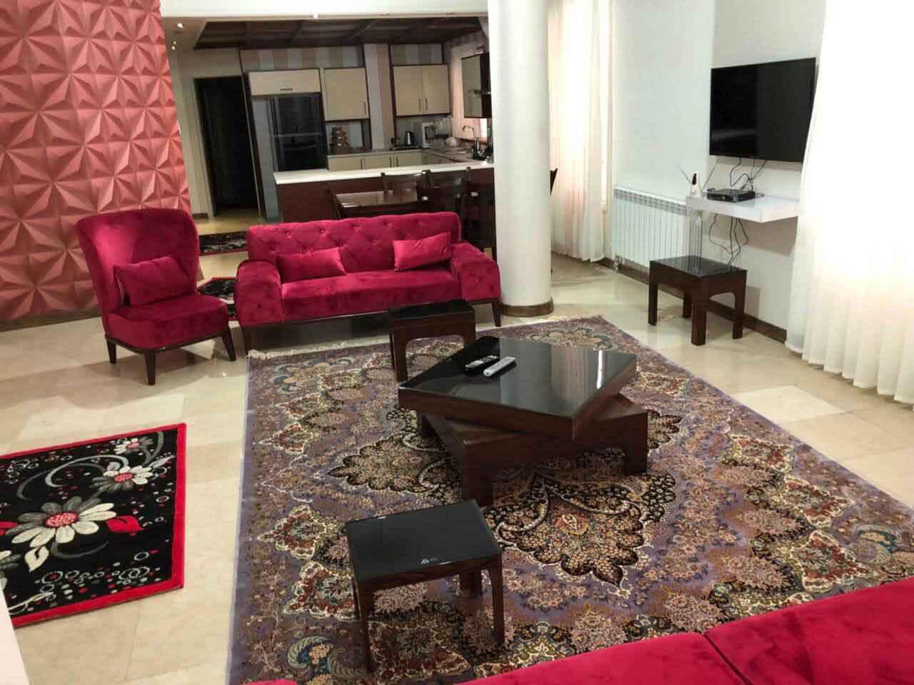 اجاره روزانه خانه لاکچری در تهران ولنجک